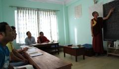 Tibetan Medine school class